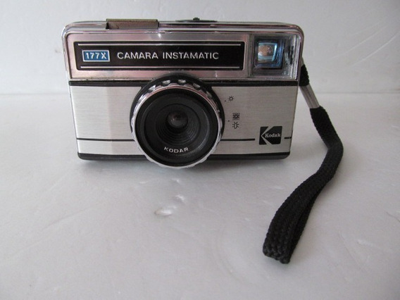 Camera Kodak Instamatic 177x Arte Som