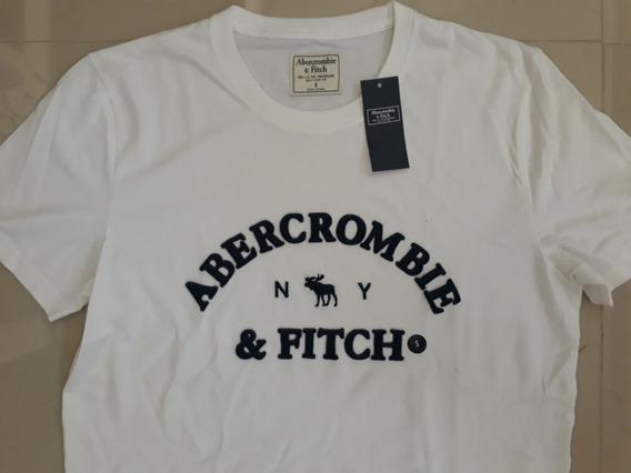 Playera Nueva Original Abercrombie&fitch Hombre S Bca