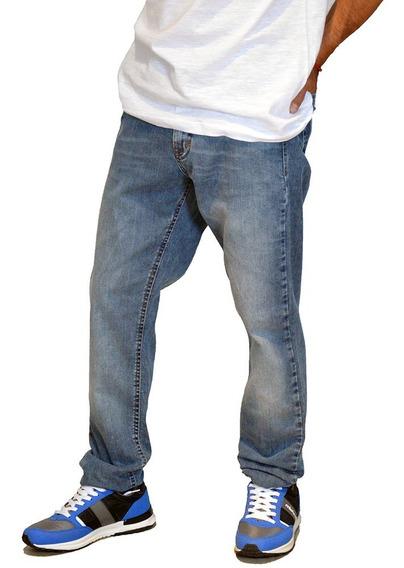 Jean Pantalon Regular Clasico Moda Hombre Mistral 15984