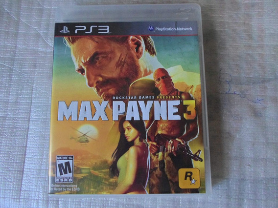 Max Payne 3 Original Completo Para Playstation 3 - Ps3