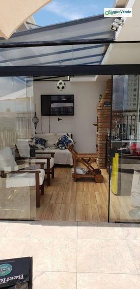 Apartamento Duplex Com 2 Dormitórios À Venda, 93 M² Por R$ 455.000 - Vila Augusta - Guarulhos/sp - Ad0002