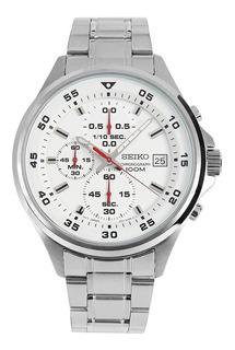 Reloj Deportivo Seiko Crono Sumergible De Acero Sks623
