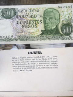 Moedas De Todo O Mundo - Argentina