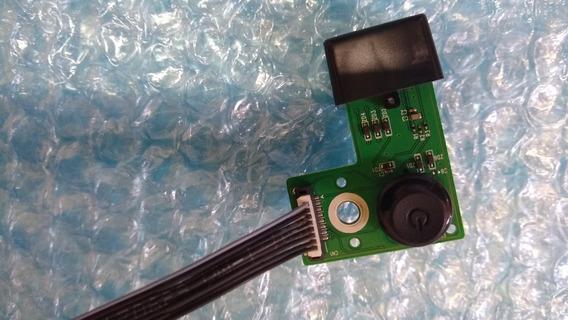 Placa Joystick Com Sensor Tv Samsung Un40h5100ag (com Cabo)