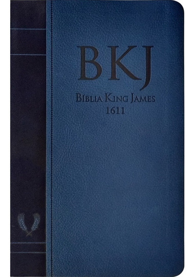 Biblia Sagrada Slim King James Fiel 1611 Fina Leve Bolsa Mão
