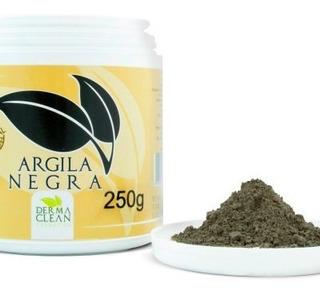 Argila Negra Em Pó - 250g - Dermaclean