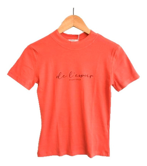 T-shirt Feminina Esperança - 12x S/ Juros