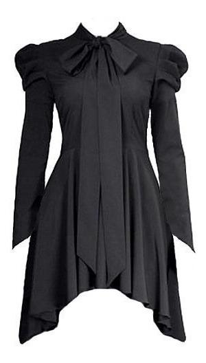 Vestido Goth Gotico Te634