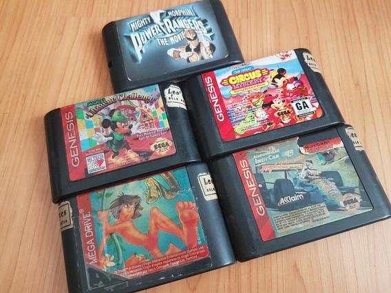 Lote 4 Cartuchos Mega Drive .