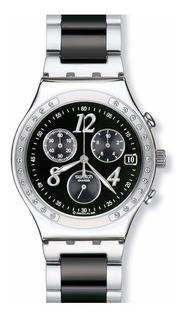 Reloj Swatch De Dama Dreamnight Ycs485gc Agente Oficial