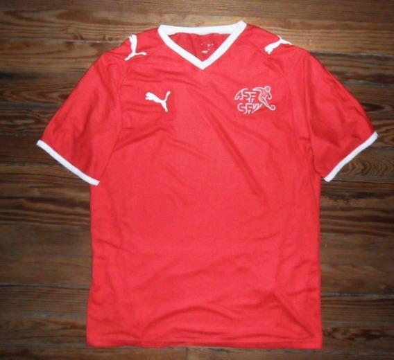 Camiseta Selección Suiza Puma Doble Tela