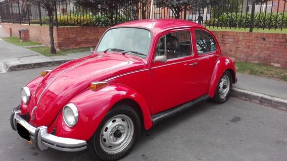 Volskwagen Escarabajo Rojo