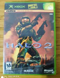 Halo 2 Xbox Clásica Primera Edición , Nose Si Anda Rayado