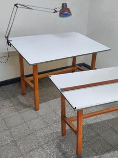 Mesa-tablero De Dibujo Marca Pizzini. M B. Estado. Queda Una