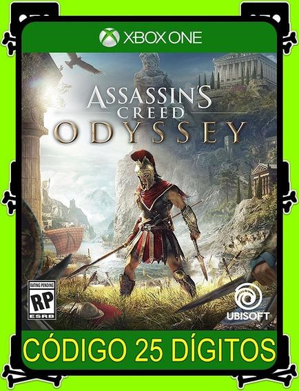 Assassins Creed Odyssey Xbox One - 100% Original (25 Dígitos)
