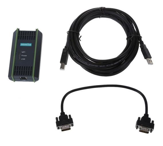Adaptador Usb Siemens Plc 6es7972 0cb20 0xa0 S7-200/300/400