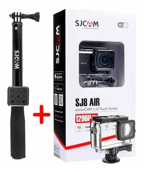 Câmera Esportiva Sjcam Sj8 Air Original + Controle Remoto