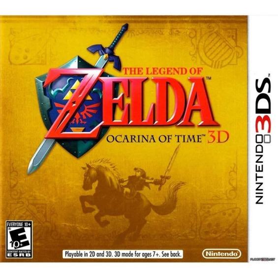 The Legend Of Zelda: Ocarina Of Time 3d - Semi Novo !