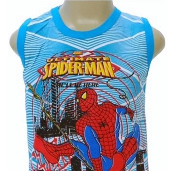 Kit 20 Camiseta Regata Infantil Masculina Estampada Verão