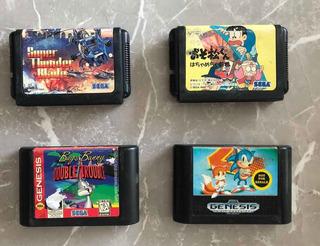 Lote De Jogos Originais E Importados Para Mega Drive/genesis