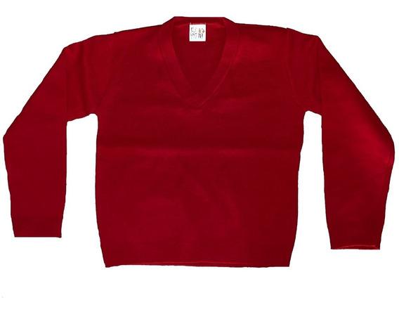 Suéter Escolar Varios Colores Cuello V Adulto