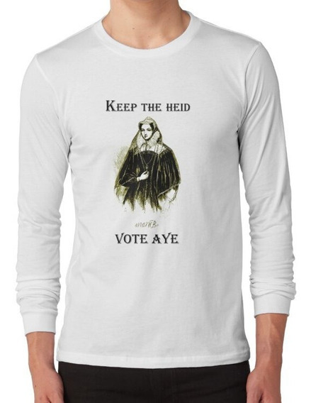 Polera Manga Larga Camiseta Mary Queen Of Scots De La Indepe
