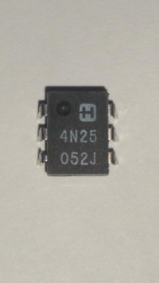 Opto Acoplador Circuito Integrado 4N25 DIP 6 Pack De 5 Unidades