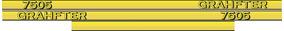 Adesivo Personalizar Trator John Deere 7505