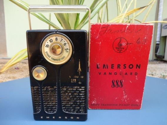 Rádio Emerson Portátil
