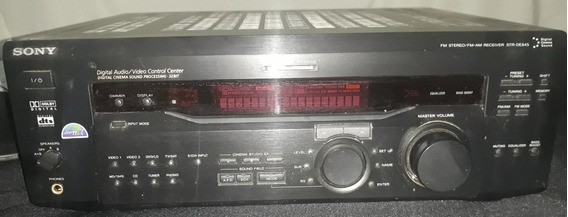 Receiver Sony Str-de 845 Usado