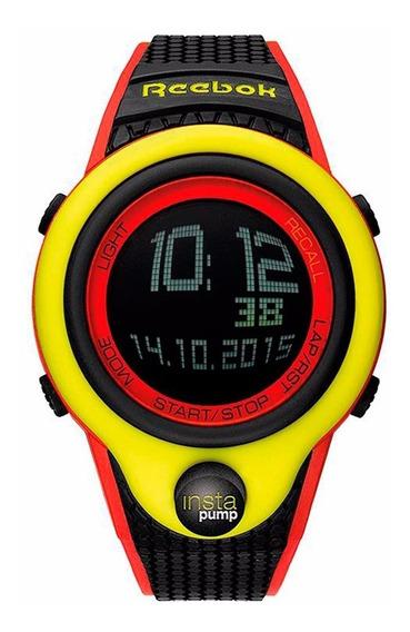 Reloj Reebok Hombre Pump Instapump Rc-pip-g9-pypb-bw