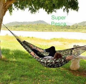 Rede De Descanso Dormir Camuflada Garimpeira Eb
