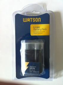 Bateria En El15 Marca Watson Para Câmera Dslr Nikon