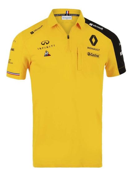 Playera Polo Le Coq Sportif Renault F1 Team 2019 Amarilla