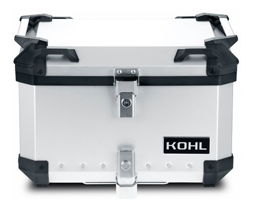 Baul Trasero Motocicleta Kohl Kh5a.3 Aluminio 50 Litros