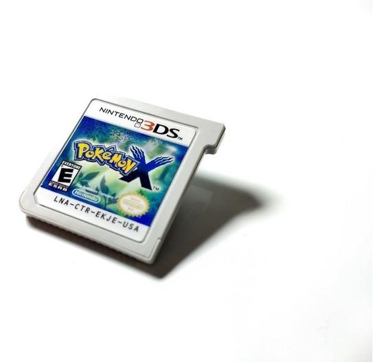 Pokemon X - Nintendo 3ds - Só Fita Americana Mídia Impecável