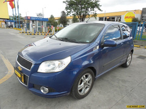 Chevrolet Aveo Emotion Gti Limited Mt 1600cc Aa 3p Ct