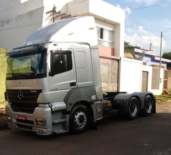 Mercedes-benz Mb 2640 Ano 2008 6x4 Tracado Revisado