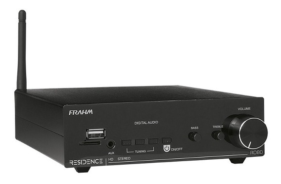 Residence Rd80 Frahm Amplificador Receiver 2x80 Rms (160rms)