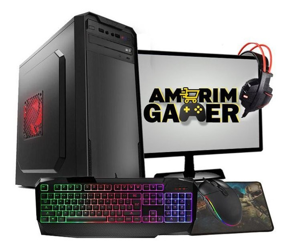 Pc Gamer Completo Aires Hd6450 2gb 4gb Hd 500gb