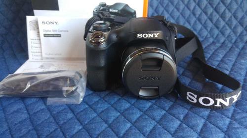 Câmera Sony Cyber-shot Dsc H300 35x 20.1 Mp Seminova!