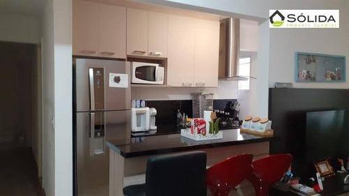 Excelente Apartamento A Venda No Condominio Canarios Em Jundiai Sp. - Ap1037