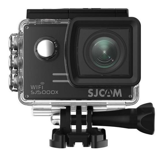 Sjcam Sj5000 X Elite 4k+microfone+sd32 Gb+carredador+bateria