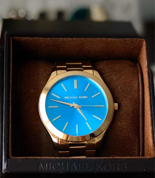 Reloj Michael Kors Carátula Azul