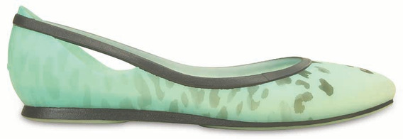 Crocs Originales Rio Leopard Flat Pool
