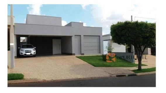 Casa Residencial À Venda, Condomínio Bella Città, Ribeirão Preto. - Ca0853