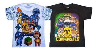 Los Compas, Duo De Playeras, Mikecrack
