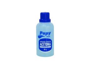 Acetona Pop Farmax 80ml Pacote Com 12 Unidades
