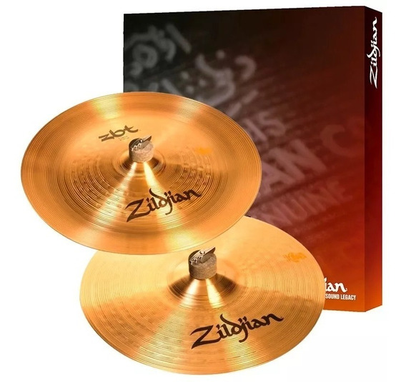 Kit Prato Zildjian Zbt Expander Ataque Crash 18 + China 18