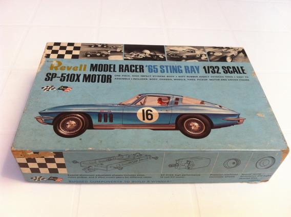 Caixa Acess Corvette Brinquedo Antigo Autorama Revell 1/32